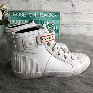 Hunter Originals LaceUp Rubber Sneaker Booties